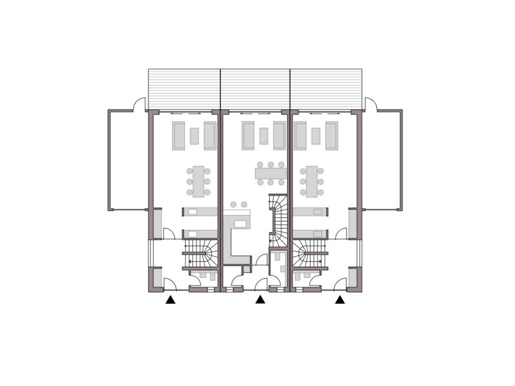 Planung Reihenhäuser K. in Bonn