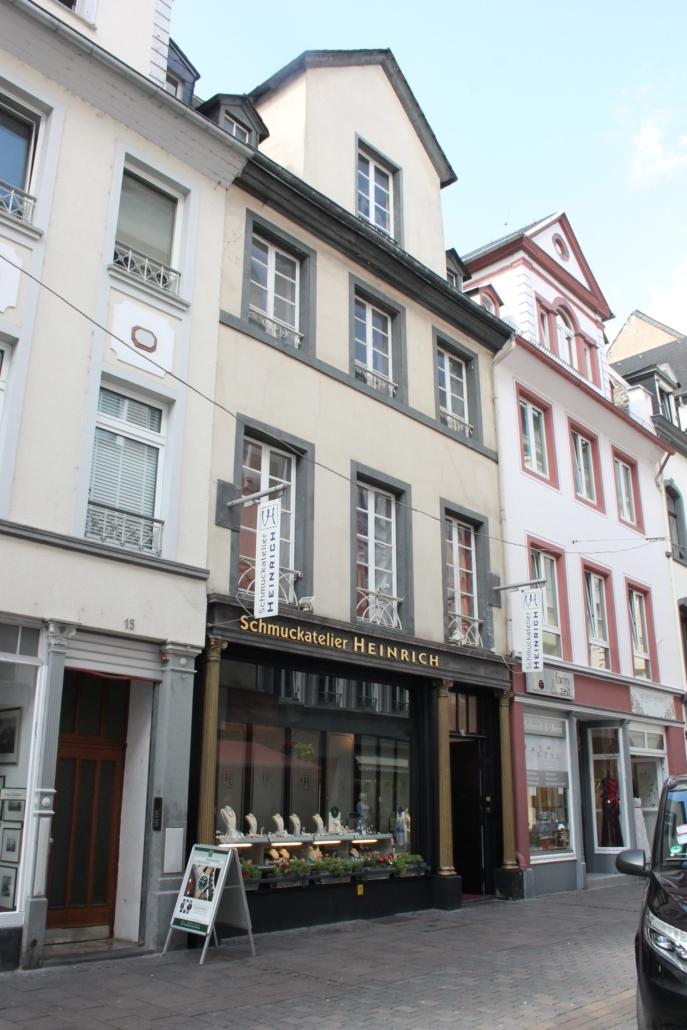 Umbau und Sanierung Geschäftshaus A. in Koblenz
